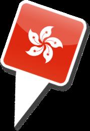 Custom-Icon-Design-Iphone-Map-Flag-Hong-kong